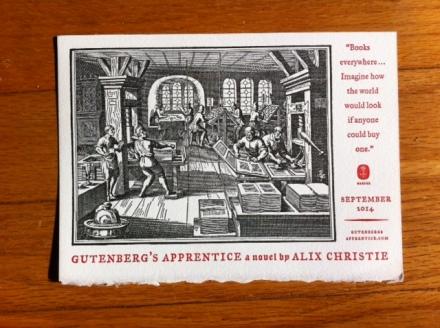 Gutenberg Card